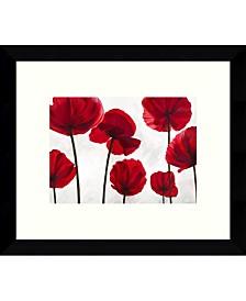 Amanti Art Red Friends Framed Art Print