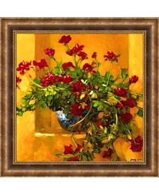 Amanti Art Ivy Geraniums Framed Art Print