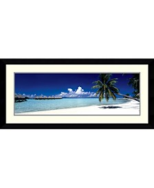 Amanti Art Tropical Beach Framed Art Print