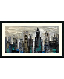 New York Moment  Framed Art Print