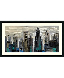 Amanti Art New York Moment  Framed Art Print