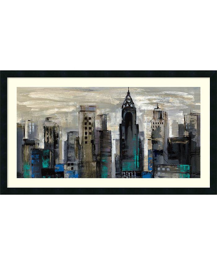 Amanti Art - New York Moment 42x24 Framed Art Print