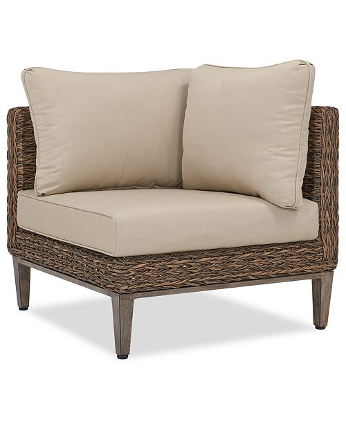 Furniture La Palma Outdoor Corner Sectional Created For Macy S
