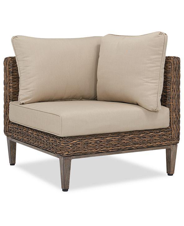 Furniture CLOSEOUT! La Palma Outdoor Corner Sectional ...