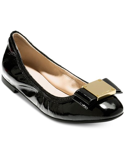 ed108234009 Cole Haan Tali Modern Bow Ballet Flats   Reviews - Flats - Shoes ...