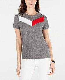 Tommy Hilfiger Sport Chevron-Logo T-Shirt