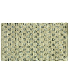 "Marion Cotton Denim Tiles 27"" x 45"" Rug"