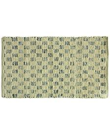 "Bacova Marion Cotton Denim Tiles 27"" x 45"" Rug"
