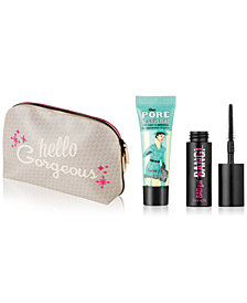 Receive a FREE Trial-Size 2-Pc. Makeup Gift & a Cosmetic Bag with any $25 Benefit Cosmetics purchase