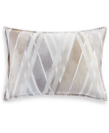 Hotel Collection Lateral Cotton 400-Thread Count King Sham, Created for Macy's