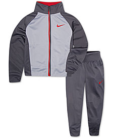 Nike Toddler Boys 2-Pc. Colorblocked Track Suit Set