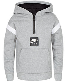 Nike Little Boys Air Pullover 1/4-Zip Hoodie