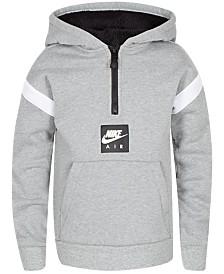 Nike Toddler Boys Air Pullover 1/4-Zip Hoodie