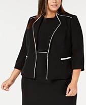 338eb1f8abb Clearance Closeout Women s Plus Size Jackets - Macy s