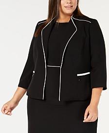 ce0b2609dbc Clearance Closeout Women s Plus Size Jackets - Macy s