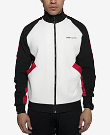 Sean John Men's Racing Colorblocked Track Jacket