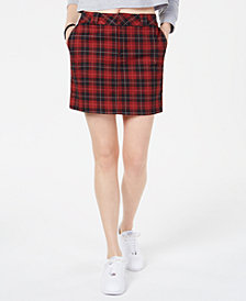 Dickies Plaid Short Skirt