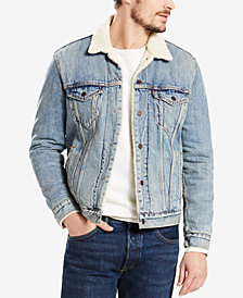 Levi's® Men's Big & Tall Fleece-Lined Trucker Jacket