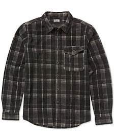 Billabong Men's Furnace Fleece Flannel Shirt