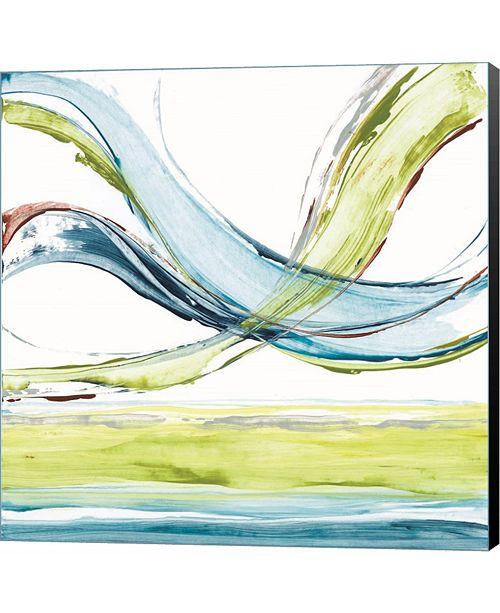 Metaverse Carousel III by Michael Brey Canvas Art