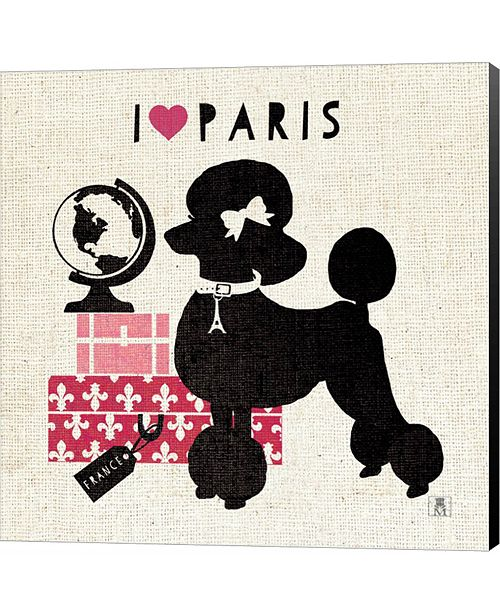 Metaverse Paris Pooch by Pela Studio Canvas Art