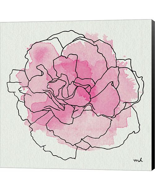Metaverse Watercolor Floral III by Moira Hershey Canvas Art