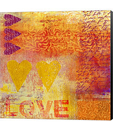 Love Stamps by Andrea Haase Canvas Art