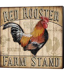 Country Rooster I by Jen Killeen Canvas Art