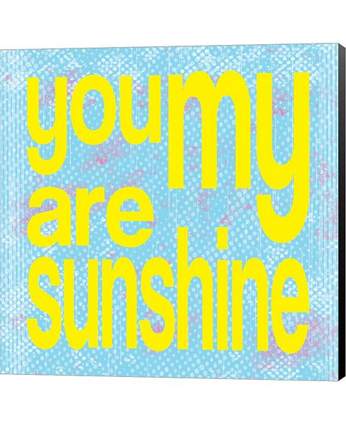 Metaverse You are My Sunshine by Louise Carey Canvas Art