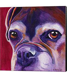 Wallace by DawgArt Canvas Art