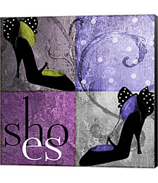 Shoes I by Mindy Sommers Canvas Art