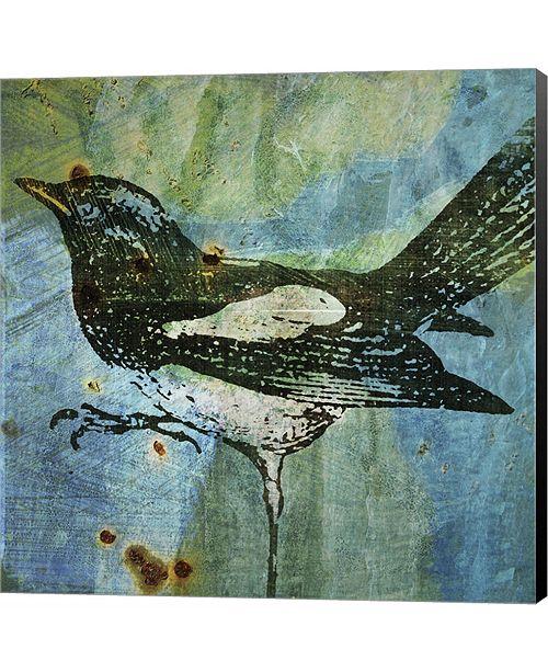 Metaverse Magpie by John W. Golden Canvas Art