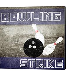 Bowling Strike by Sports Mania Canvas Art