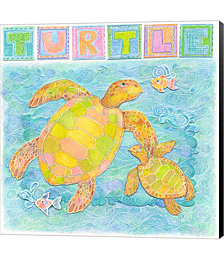 Turtle by Cheryl Piperberg Canvas Art