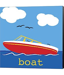Boat by Melanie Parker Canvas Art