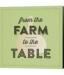 Farm To Table II by Dallas Drotz Canvas Art
