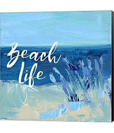 Beach Life by Pamela J. Wingard Canvas Art