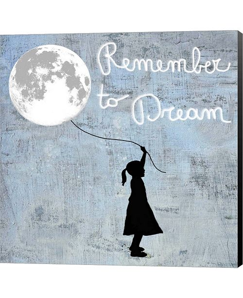 Metaverse Remember to Dream by Steven Hill Canvas Art