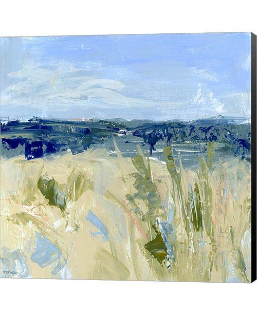 Metaverse Winter Beach IV by Linda Woods Canvas Art