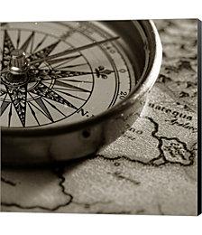 Compass by PhotoINC Studio Canvas Art