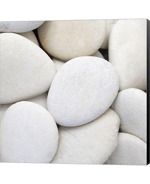 Metaverse White Pebbles by PhotoINC Studio Canvas Art