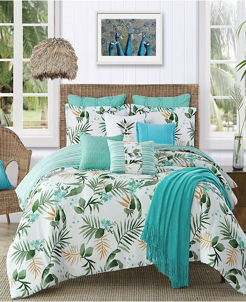 Cathay Home Inc. Caribbean Joe Nassau 4-Piece Full  Comforter Set