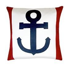 """Anchor Outdoor Pillow, 18"""" X 18"""""""