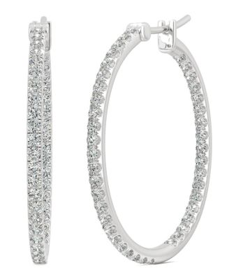 Lab Created Diamond Classy Stud Earrings For Women /& Girls Jiana Jewels Yellow Gold 0.27 Carat I-J Color, SI2-I1 Clarity