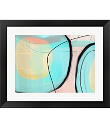 Blown Glass by Delores Naskrent Framed Art