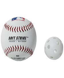 "Franklin Sports Mlb 5"" Indestruct-A-Balls Micro Baseball- White"