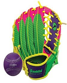 """9.5"""" Teeball Meshtek Glove & Ball Set -Left Handed"""