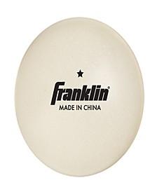 40mm 1 Star White Table Tennis Balls - 36 Pack