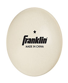 Franklin Sports 40Mm (1) Star White Table Tennis Balls-36 Pack