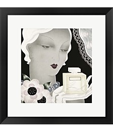 Art Deco Flapper Col by Vintage Apple Collection Framed Art